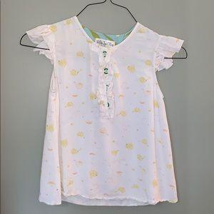 Matilda Jane, Girls short sleeve shirt, Size 12